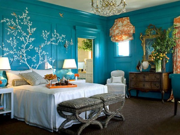 Ordinaire ... Artistic Small Bedroom Decorating Ideas ...