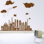 Spectacular Wall Sticker Decorating Design Model