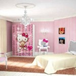 Artistic Girl Bedroom Design Decor