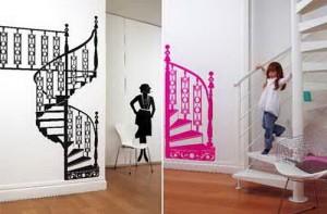 New Wall Sticker Decorating Design Concept