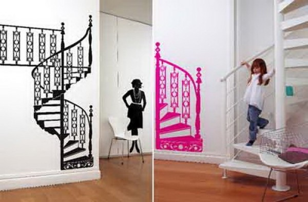 Attractive Wall Sticker Decoration Design Home Interior Ideas
