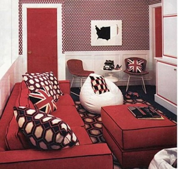 Remarkable Red Color for Living Room Ideas 600 x 572 · 88 kB · jpeg
