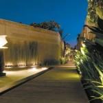 Exotic Contemporary Villa Decor View