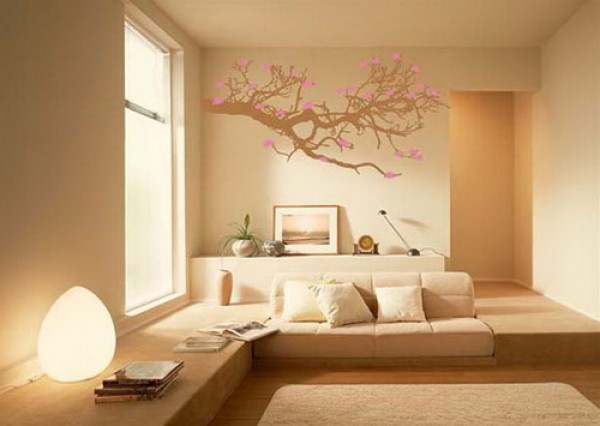 Artistic Wall Sticker Decorating Design Ideas