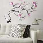 Simple Wall Sticker Decorating Interior Design