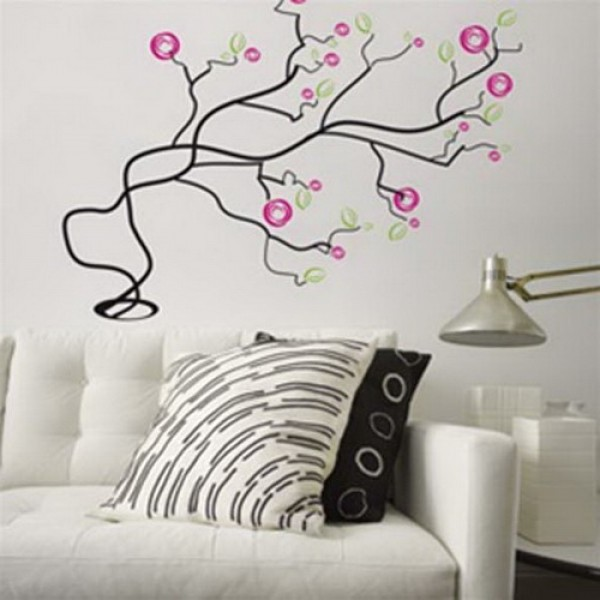 Colorful Wall Sticker Decoration Design Interior Home