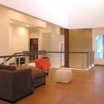 Futuristic Interlocking House Design Interior