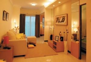 Futuristic Small Apartment Interior Design
