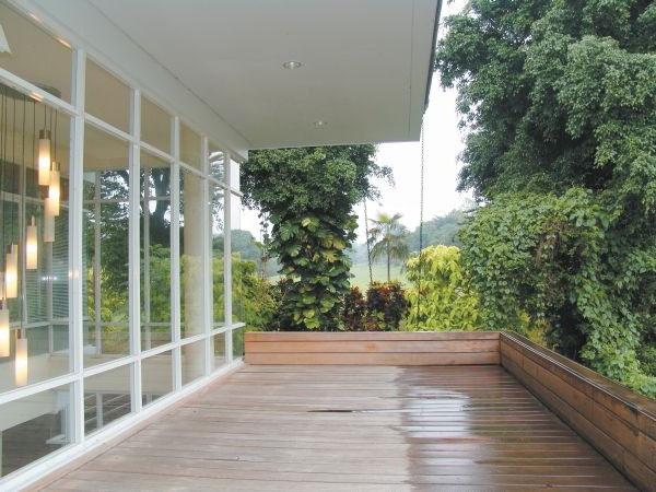 Interested Tropical House Outdoor Design