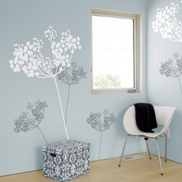 wall sticker design model elegant wall sticker decoration design - Wall Sticker Design Ideas