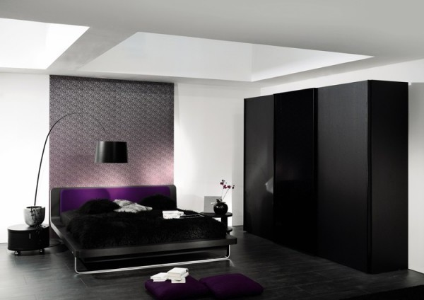 Contemporary Main Bedroom Design Layout