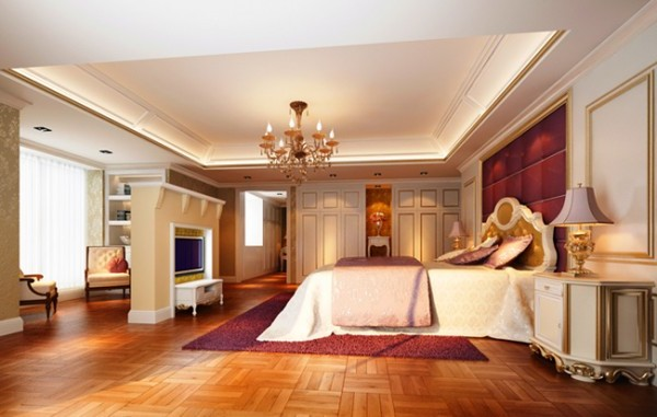 Classical Master Bedroom Design Layout