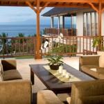 Charming Villa Family Room Design