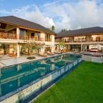 Luxurious Villa Pool Decorating Design Scheme