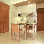 Artistic Burgundy Dining Room Design Concept