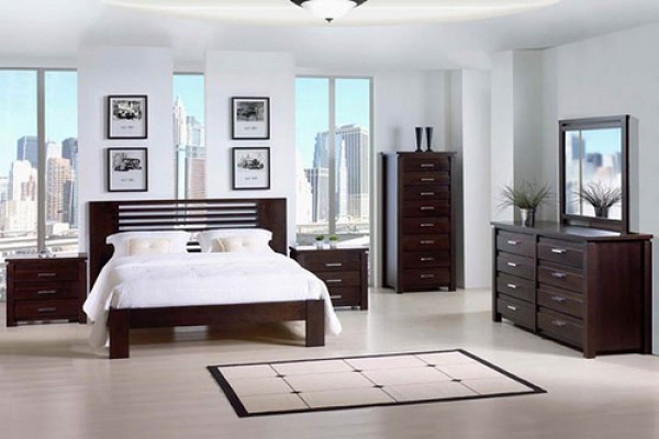 Futuristic main bedroom decorating design home interior for How to decorate a bedroom