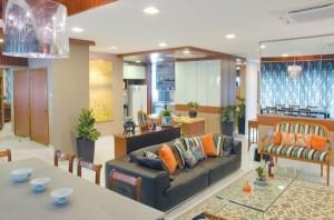 Futuristic Apartment Living Model
