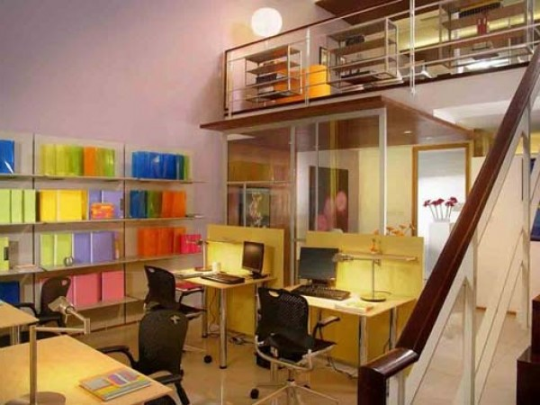 Luxury Apartment Office Decorating Design Layout