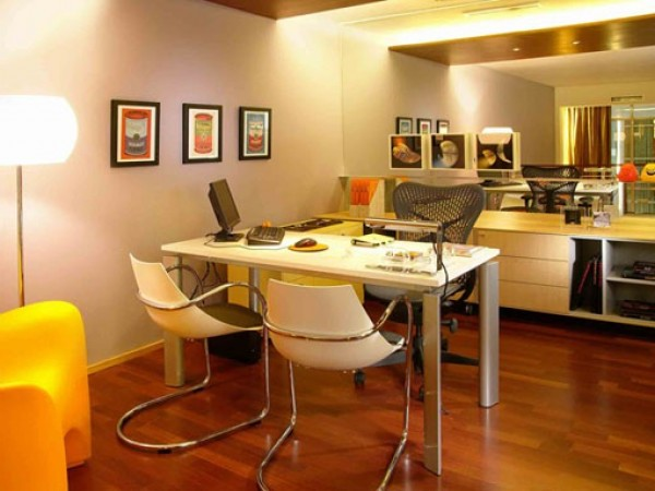 Contemporary Apartment Office Design Inspiration