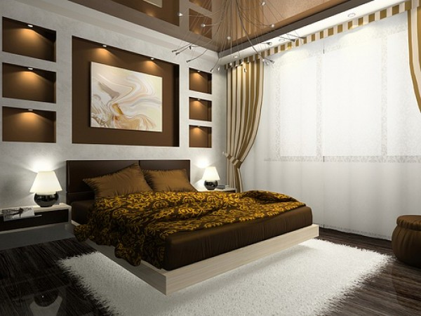 Luxury Master Bedroom Design Interior