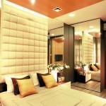 Futuristic Burgundy Bedroom Design Theme