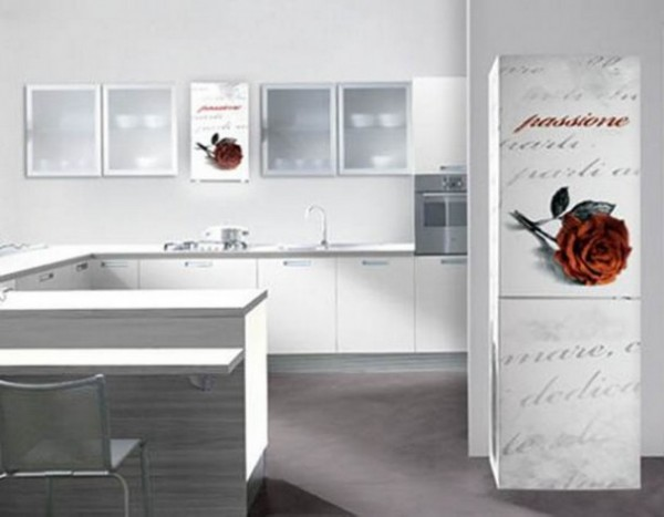 Futuristic Kitchen Furnishing Decoration