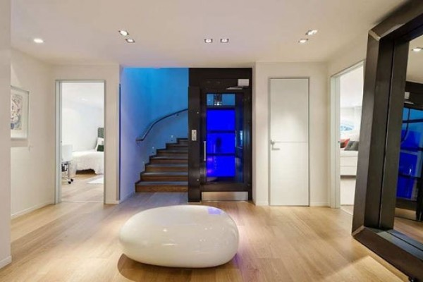 Modern Contemporary Duplex Apartment Decorating Design Charming ...