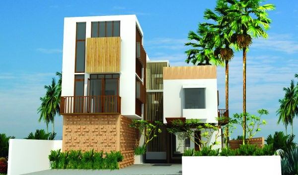 contemporary box home design construction