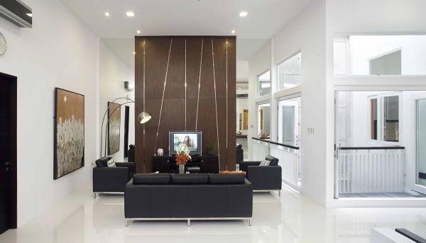 Elegant Two Courtyards Design Layout
