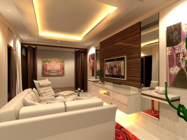 Beau ... Minimalist Villa House Decorating Design Interior ...