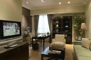 Attractive Apartment Decorating Design with Natural Color