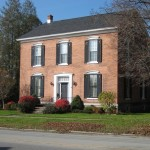 Adorable Red Brick House Design Construction