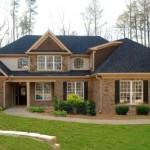Modern Red Brick House Design Concept