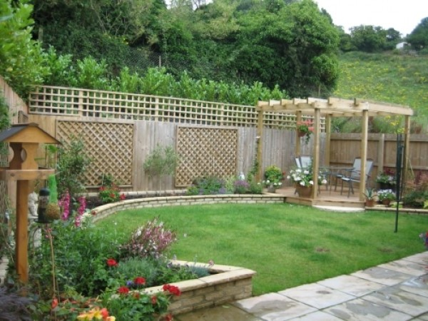 Minimalist and artistic garden design ideas home for Home garden design in pakistan
