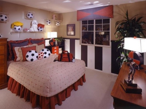 Futuristic Teenage Bedroom Design Decoration