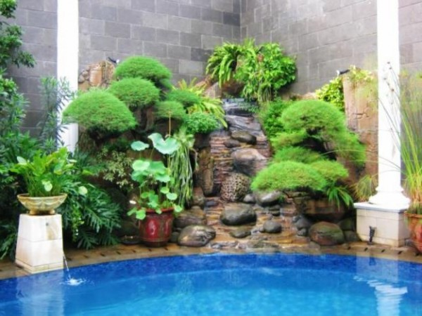 Latest home gardening design view home interior design ideas for Home landscape design sri lanka