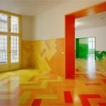 Artistic Multicolor Design Interior Image