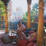 Aesthetic Spa Balcony Room Design Type