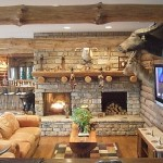 Popular Rustic Fireplace Design Type