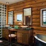Extraordinary Rustic Bathroom Design Interior