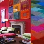Contemporary Colorful Design Interior Art