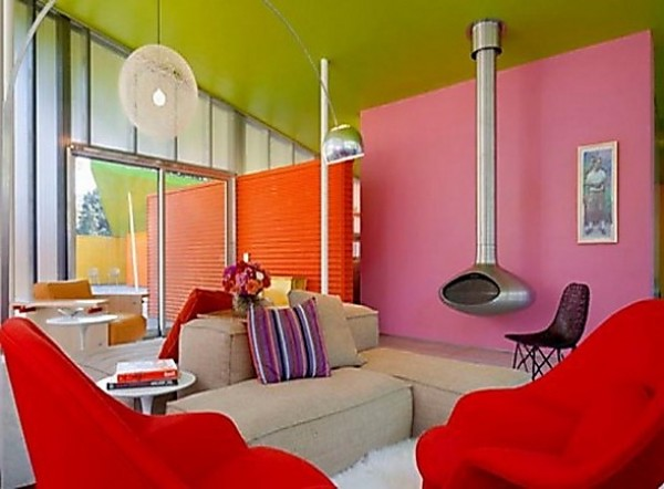 Futuristic Multicolor Interior Design Inspiration | Home Interior ...