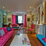 Elegant Multicolor Design Interior Layout
