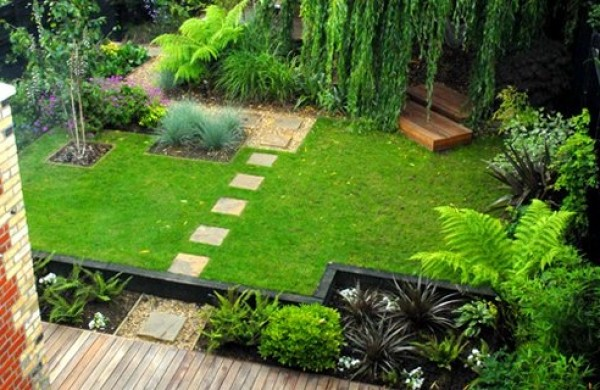 Small home garden design ideas home interior design ideas for Landscape design usa