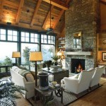 Luxury Rustic Living Room Design Interior