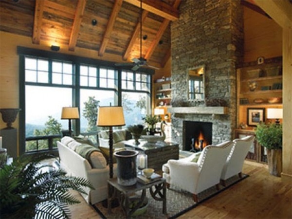wonderful rustic interior design gallery - Rustic Interior Design Ideas