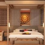 Extraordinary Resort Bedding Design Concept