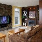 Popular Interior Room Design Layout with Natural Stone