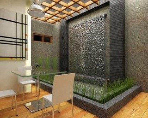... Fantastic Interior Room Design Concept With Natural Stone ...