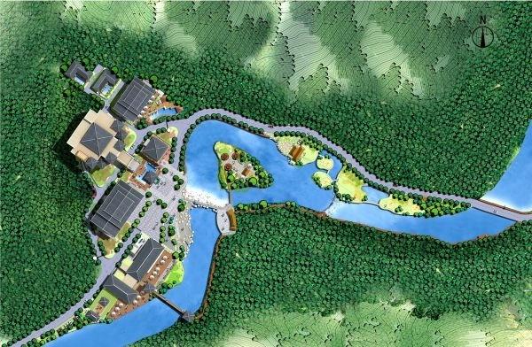 Innovative Resort Design Scheme